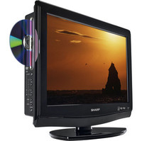 Sharp LC-19DV28UT 19 in  LCD TV DVD Combo
