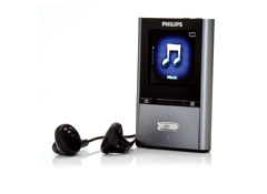 Philips SA2VBE08K  8 GB  MP3 Player