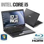 MSI A7200-018US Laptop Computer - Intel Core i5-430M 2 26GHz  4GB DDR3  320GB HDD  BD Combo  17 3 Di  9S7-17364A-018  PC Notebook