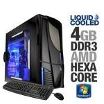 iBUYPOWER GAMER EXTREME 577SLC Gaming Desktop PC - AMD Phenom II X6 1055T Hexa Core 2 8GHz  4GB DDR3