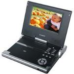 Digix PDV-0082B 8 in  Portable DVD Player with Screen