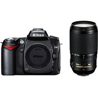 Nikon D90 Digital Camera with 18-105mm   70-300mm Lens