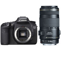 Canon EOS 7D Digital Camera with 18-55mm and 70-300mm lenses