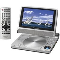 Panasonic DVD-LS50 7 in  Portable DVD Player