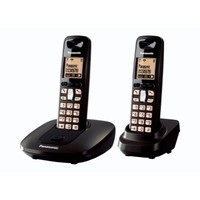 Panasonic KXTG6412 Twin 1-Line Cordless Phone
