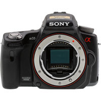 Sony Alpha SLT-A33 Body Only Digital Camera