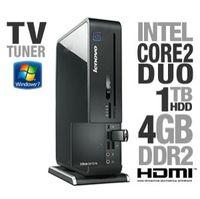 Lenovo IdeaCentre Q700 30151OU Desktop PC - Intel Core 2 Duo E7500 2 93GHz  4GB DDR2  1TB HDD  DVDRW