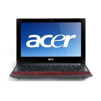 Acer Aspire One AOD255-1134 10 1-Inch Netbook - Ruby Red  884483114801