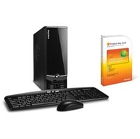 eMachines EL1352-51 Athlon II 2GB DDR3 Desk Bundle  PTNC902006BUNDLE  PC Desktop