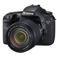 Canon EOS 7D Digital Camera with 100mm lens