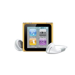 Apple iPod Nano 6th Generation Orange  16 GB  MP3 Player