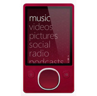 Microsoft Zune Red  80 GB  MP3 Player