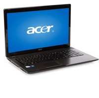 Acer Black 17 3  Aspire AS7714Z-4643 Laptop PC with Intel Pentium P6100 Processor  Windows 7 Home Pr     99802110123  PC Notebook