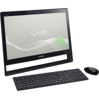 Sony VAIO VPC-J Series 21 5-Inch Black All-in-One 256GB SSD  Intel Core i7 processor i7-620M - 2 66G    PC Desktop