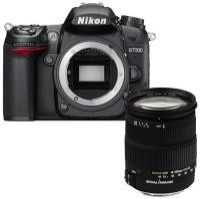 Nikon D7000 Digital Camera with 18-200mm lens
