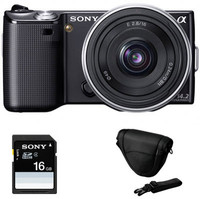 Sony NEX-5D Digital Camera with 16mm lens