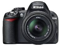 Nikon D3100 Digital Camera with 55-200mm lens
