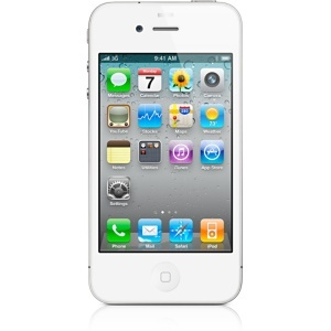 Apple iPhone 4 White (32 GB) Smartphone