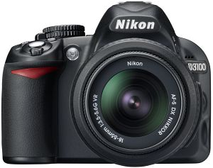Nikon D3100 Digital Camera with 18-55mm and 55-200mm lenses