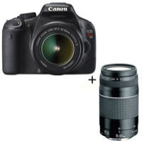 Canon REBEL T2i / EOS 550D Digital Camera with 75-300mm lens