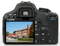 Canon Rebel T1i / EOS 500D Digital Camera with 18-55mm and 75-300mm lenses