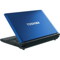 "Toshiba NB505N508BL 10.1"" Intel Atom Netbook Computer (Blue) USB 2.0 Hard Drive"