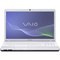 Sony VAIO EH1 Series White Computer - VPCEH12FX/W PC Notebook