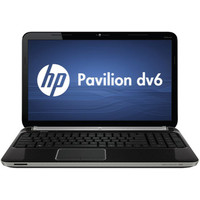 HP Pavilion Dv6-6110us Notebook PC, Espresso Black (LW261UAABA)