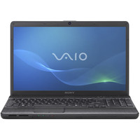Sony VAIO EH1 Series Black Computer - VPCEH12FX/B PC Notebook