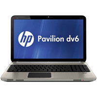 Hewlett Packard HP Pavilion DV6 Series Steel Gray Computer - DV6-6140US PC Notebook