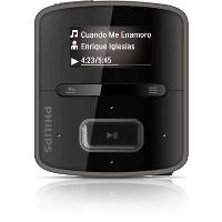 Philips GoGear RaGa SA3RGA02K (2 GB) MP3 Player