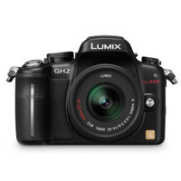 Panasonic Lumix DMC-GH2H 3D Digital Camera with 14-140mm lens