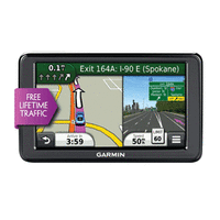Garmin NUVI 2555LT - 5.1 in. Car GPS Receiver