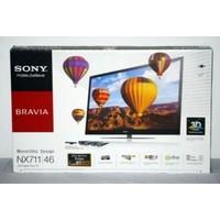"""Sony BRAVIA KDL-46NX711 46"""" 3D LCD TV"""