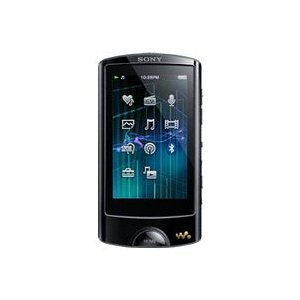 Sony NWZ-A864BLK (8 GB) MP3 Player