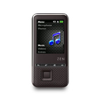 Creative Technology ZEN Style 100 Black (4 GB) MP3 Player