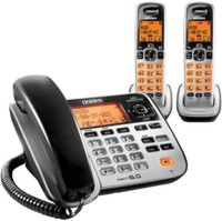 Uniden D1688-2 5.8 GHz Twin 1-Line Corded / Cordless Phone