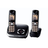 Panasonic KX-TG6522B 5.8 GHz Twin Cordless Phone