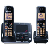 Panasonic KX-TG7622B 1.9 GHz Twin 1-Line Cordless Phone