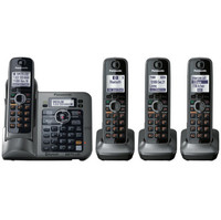 Panasonic KX-TG7644M 1.9 GHz Quad 1-Line Cordless Phone