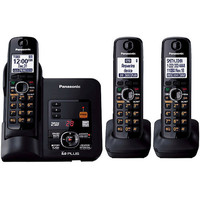 Panasonic KX-TG6633B 1.9 GHz Trio 1-Line Cordless Phone