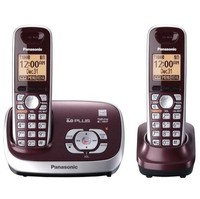 Panasonic KX-TG6572R 1.9 GHz Twin 1-Line Cordless Phone