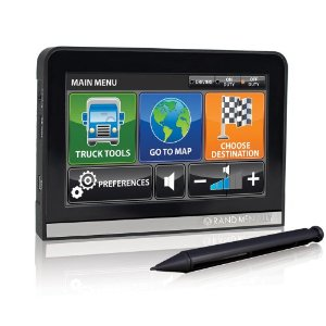 Rand Mcnally IntelliRoute TND 510 GPS Receiver