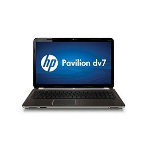HP Pavilion Dv7-6b75nr Notebook PC, Dark Umber Aluminum (A1T61UAABA)