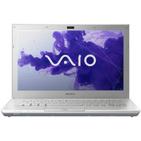 Sony VAIO S Series White Computer - VPCSA3AFX/SI PC Notebook