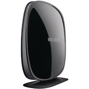Belkin F9K1102 N600 DB Wireless Dual-Band N+ Router - 4x Ports, Wireless-N, RJ-45, USB, Up to 300Mbp...