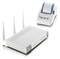 Zyxel Communications N4100 (N4100WPRINTER) Pre-802.11n  Wireless Access Point