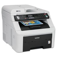 Brother MFC-9125CN All-In-One LED Printer