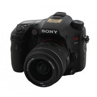 Sony SLT-A77VK Light Field Camera with 18-55mm lens