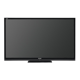 Sharp Aquos Quattron LC-70LE733U LCD TV